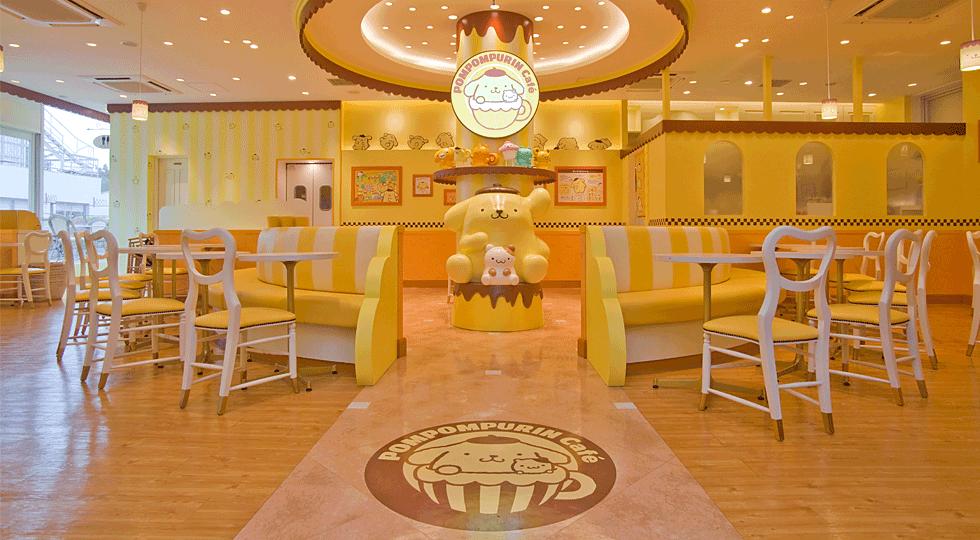 『ポムポムプリンカフェ』ってどんなトコ?可愛らしい空間で夢の時間を…☆